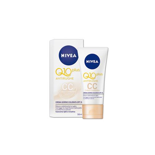 Nivea CC Crema Colorata Antirughe Q10 50 ml