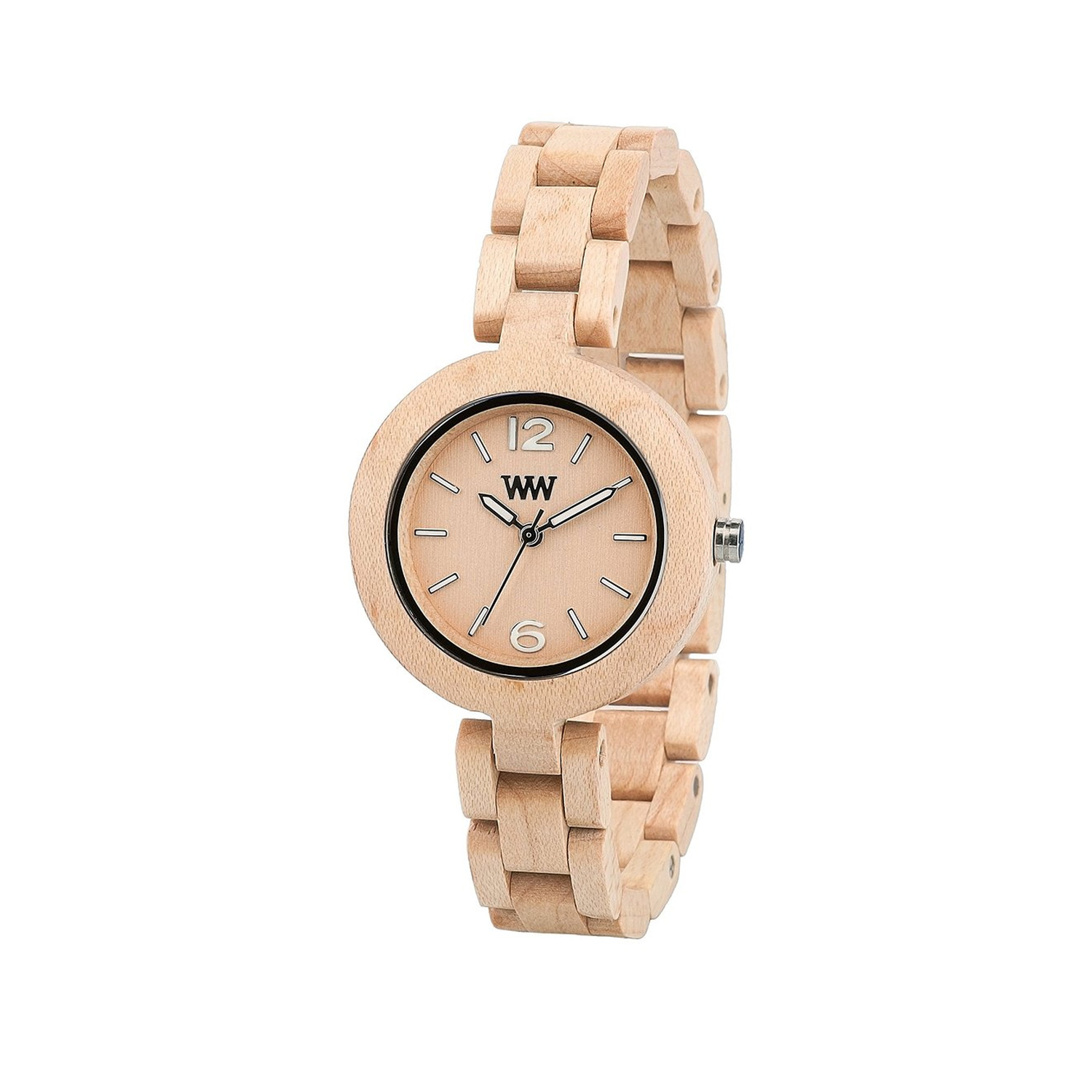 comprare on line 488c5 1e6dd Orologio donna We Wood MIMOSA_BEIGE