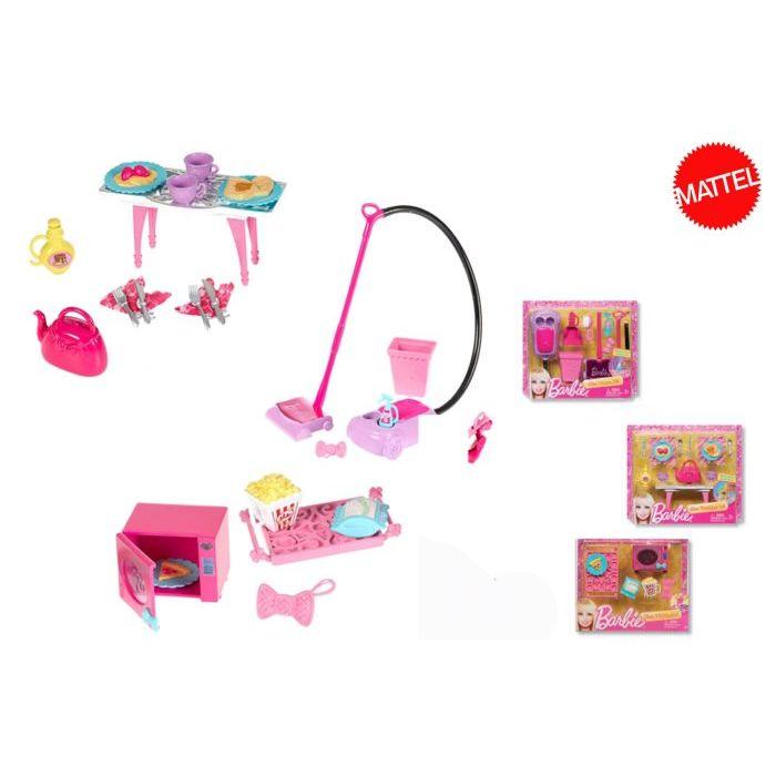 haut de gamme véritable Style magnifique acheter de nouveaux Mattel Mini Accessori Casa Barbie X7931
