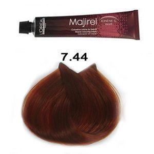 Loreal Majirel 744 Colorazione Capelli 50 Ml