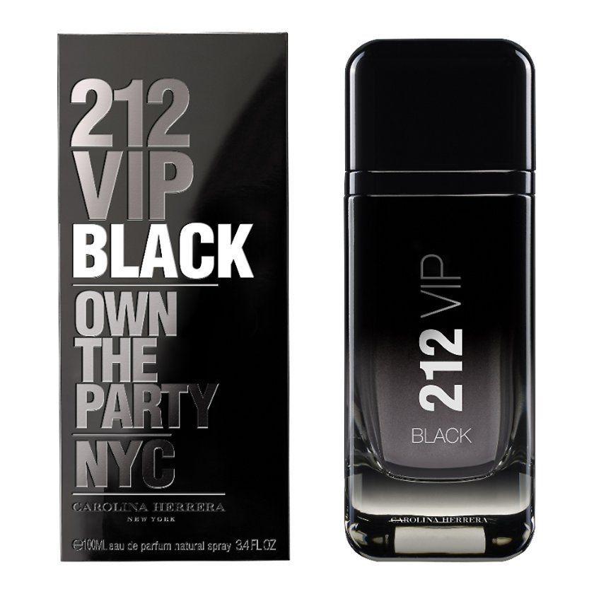 Carolina Herrera 212 VIP Black 100 ml Eau de Parfum edp Profumo Uomo