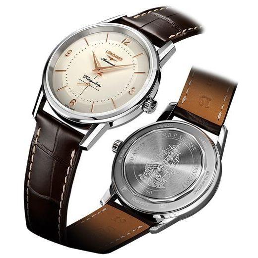 selezione premium 39c4e 41819 orologio Longines L48174792 uomo Heritage Classic