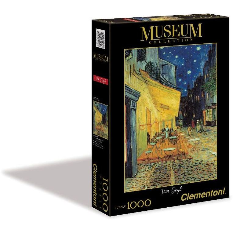 clementoni puzzle 1000 greatmuse-van gogh (museum) 31470 ...