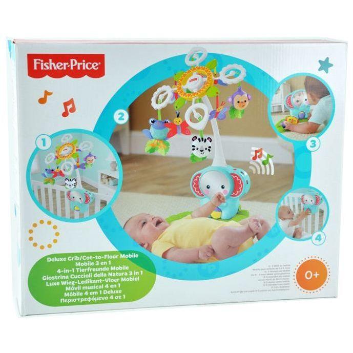 Fisher-Price M/óvil musical 4 en 1 Mattel BFR22