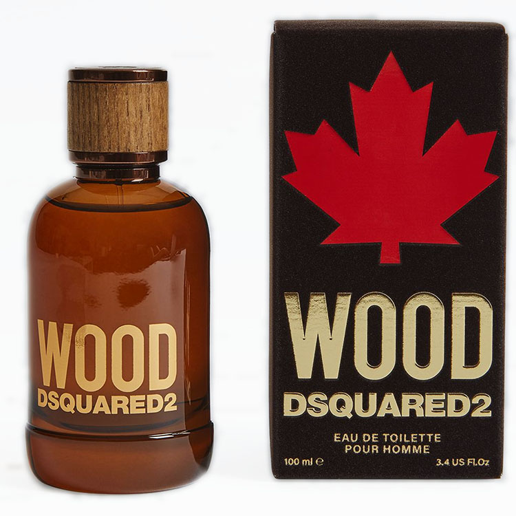 Dsquared2 Wood 100 ml Eau de Toilette Profumo Uomo