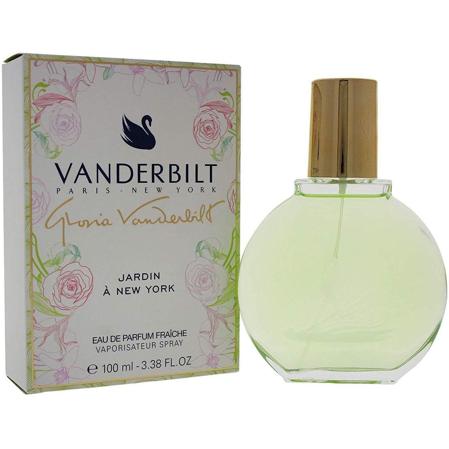 Gloria Vanderbilt Jardin a New York 100 ml Eau de Parfum Fraiche edp Profumo Donna