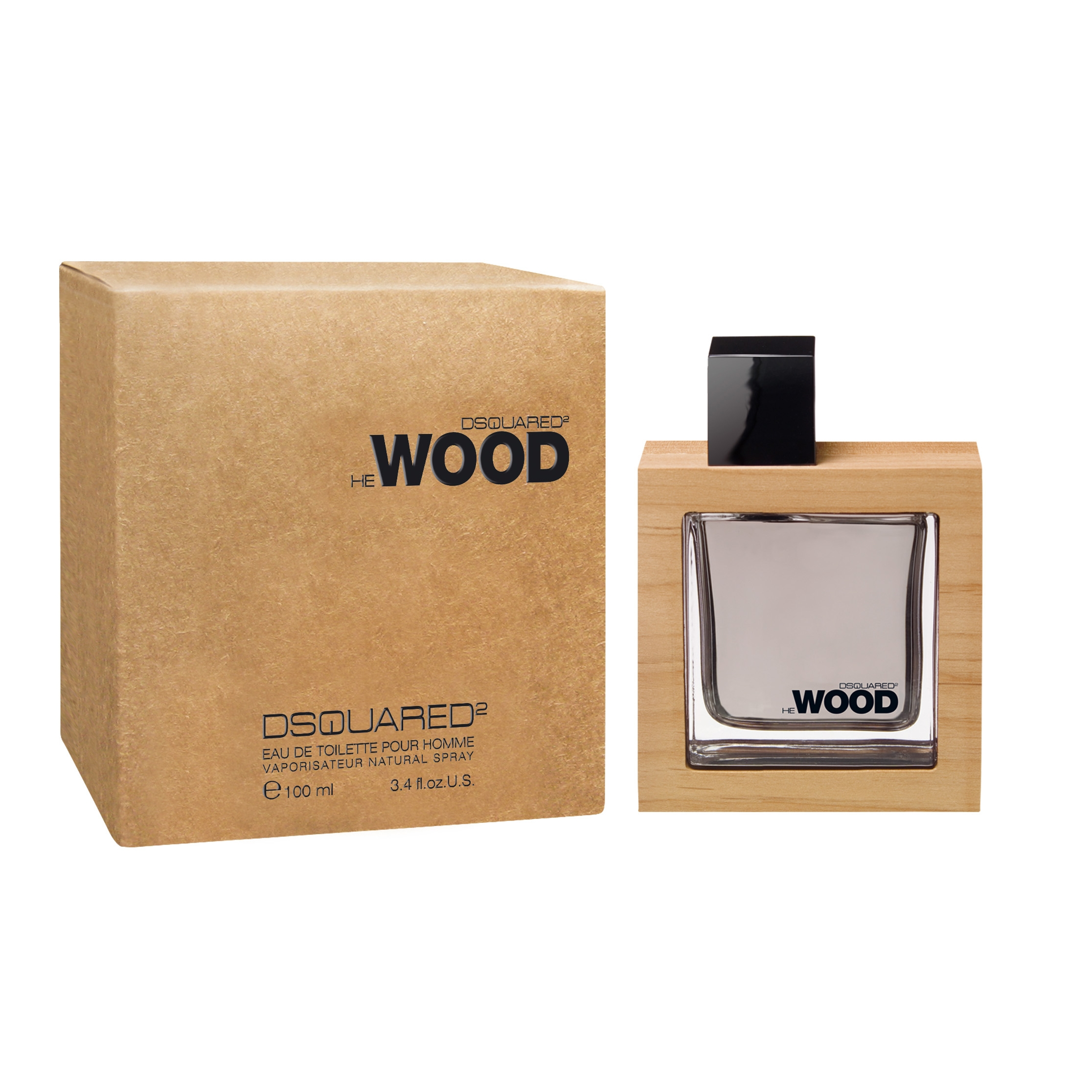 Dsquared2 He Wood 100 ml Eau de toilette edt profumo uomo 100 ml